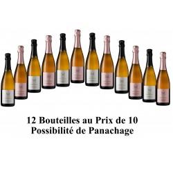 """Offre de printemps 12 bouteilles au prix de 10 ! Cliquer dessus pour constituer votre """"Pack  Crémants"""""""