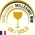 Millésime BIO Challenge médaille OR